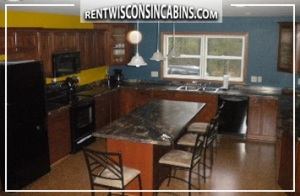 Vacation home kitchen