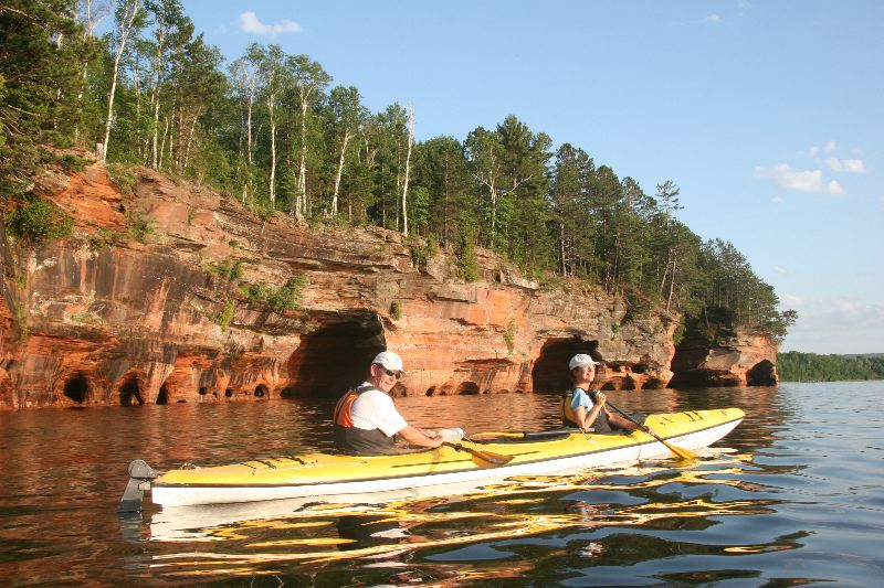Paddling The Waters Of Wisconsin Wisconsin Cabins And