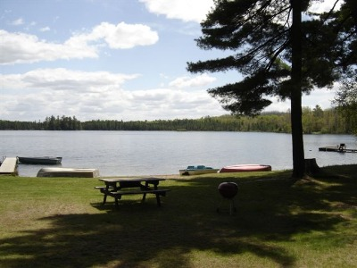 Cottage Resort on Beautiful Verna Lake in Northern Wisconsin