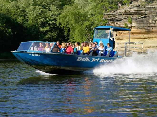 boat tours, Wisconsin Dells, Wisconsin, Jet Boat