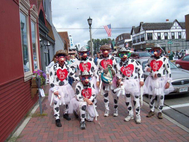 Fall Festival, Wisconsin, Minocqua, Parade