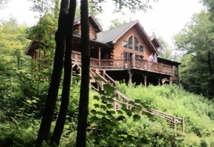 clear water cabin