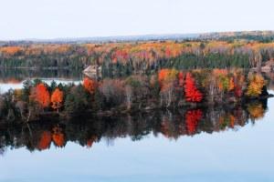 oscoda fall color