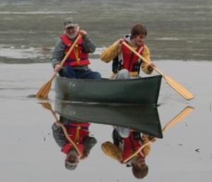 Canoe, Lake, Minnesota, Boat
