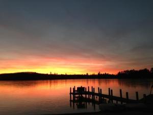 MI vacation rental sunset