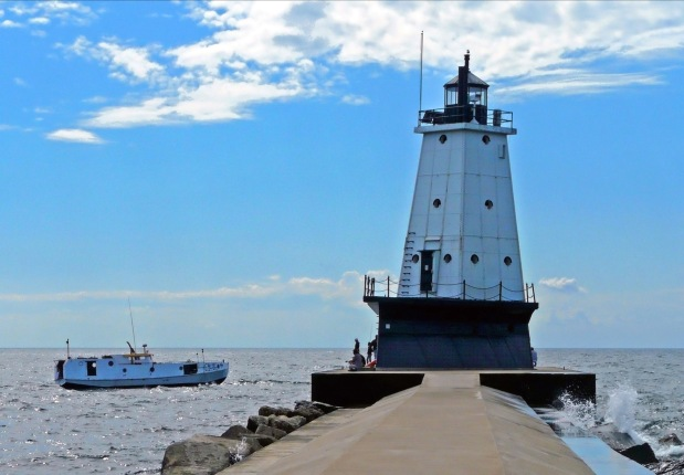 The Ultimate #Lighthouse Tour in Wisconsin and Michigan